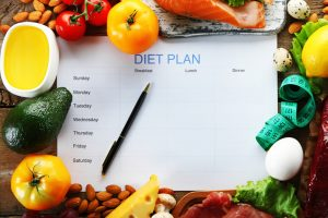 Piano alimentare settimanale